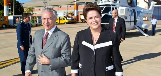 Michel Temer and Dilma Rousseff in Happier Times