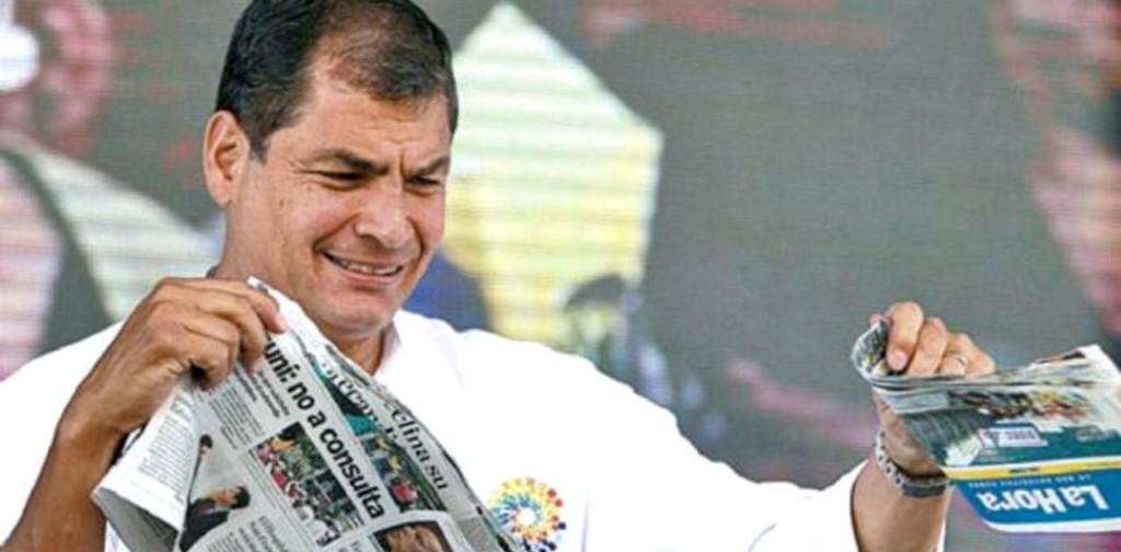 Former President of Ecuador, Raphael Correa