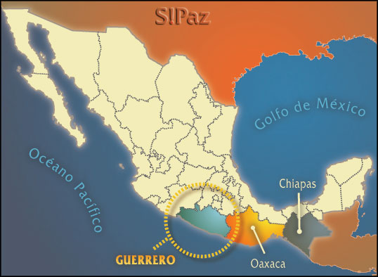 Map showing Special Economic Zones