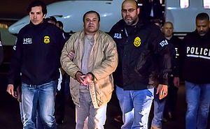 """Mexican drug lord, """"El Chapo,"""" in Drug Enforcement Agency Custody"""