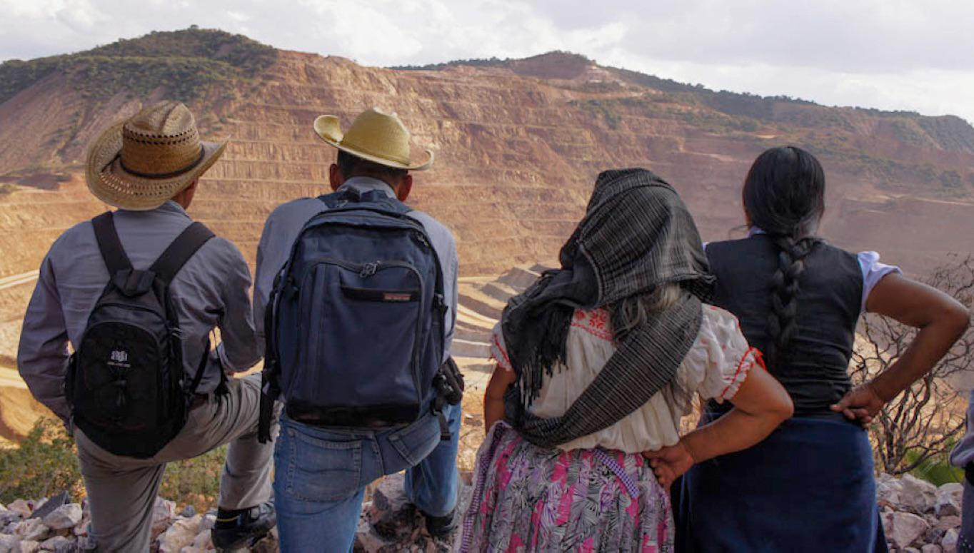Los Filos Mine, Guerrero Mexico, controlled by Canadian mining company Goldcorp