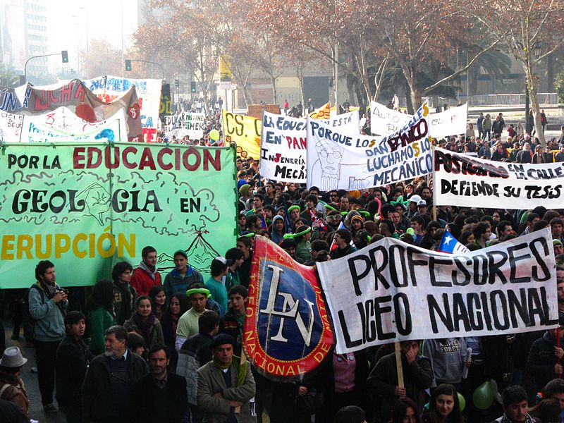 Students Protest Inequalities in Education