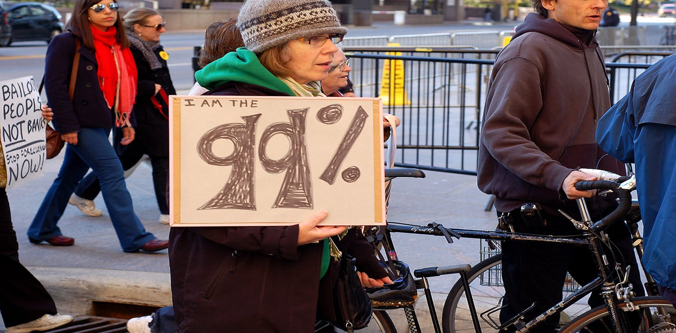U.S. protest against inequality