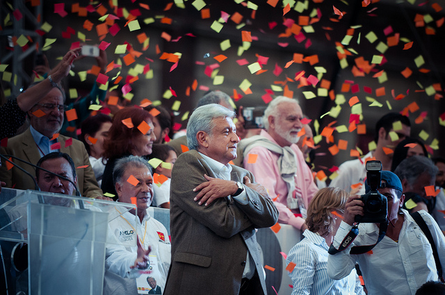 AMLO closes 2018 presidential election campaign