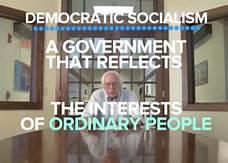 Social democratic leader, Bernie Sanders