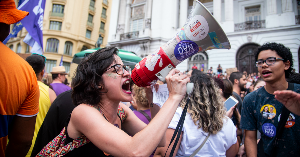 Anti Bolsonaro protest