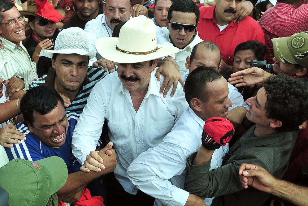 Former Honduran President Manuel Zelaya