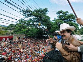 Former president of Honduras Manuel Zelaya