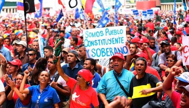 Pro Maduro rally