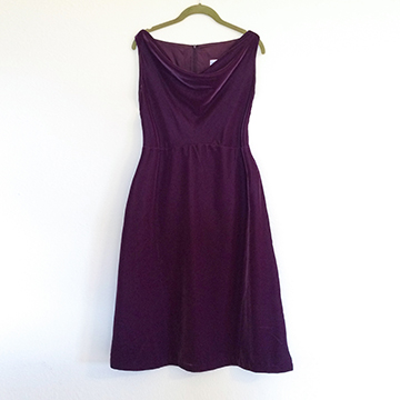 Dress - Purple Velvet