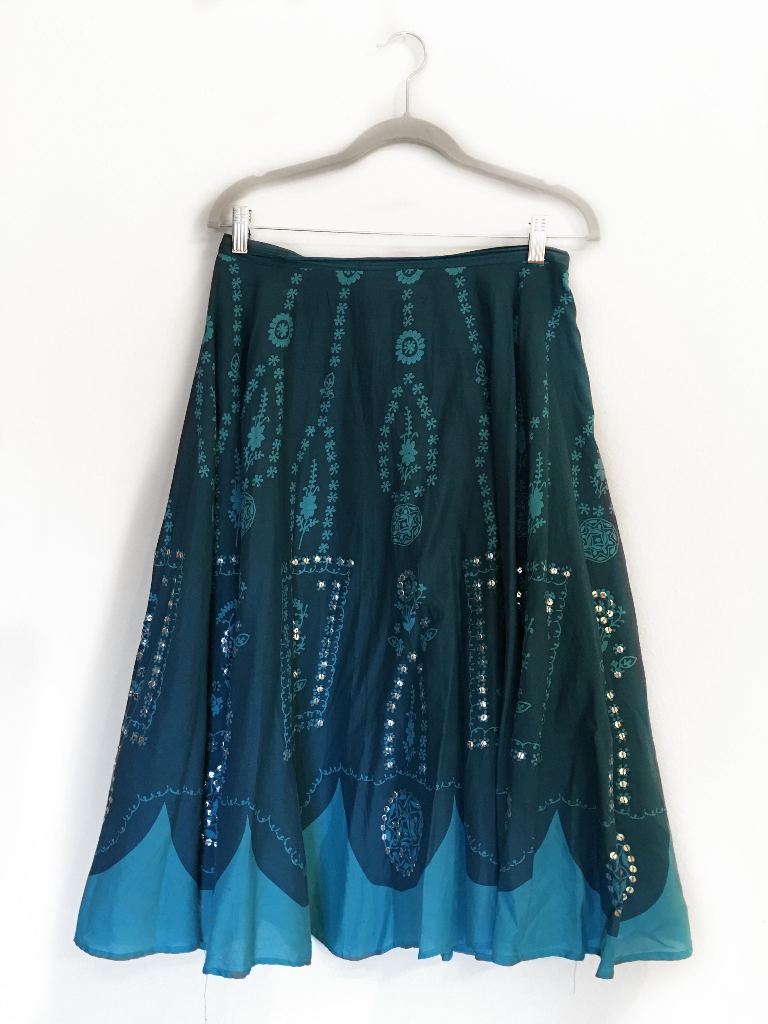 Skirt - Bohemian Blue