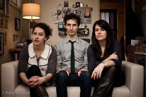 Ilana Glazer, Rob Michael Hugel, Abbi Jacobson Credit: Katie Osgood