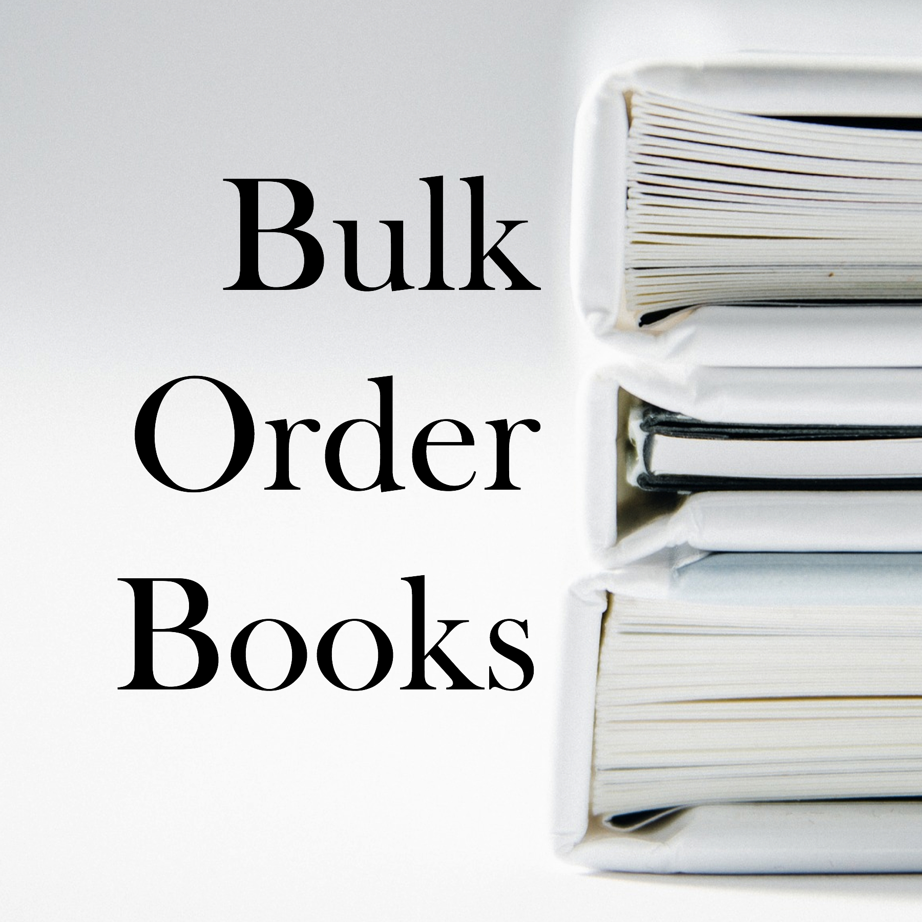 Christian Bulk Order Books
