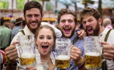 Oktoberfest revelers:stock.jpg