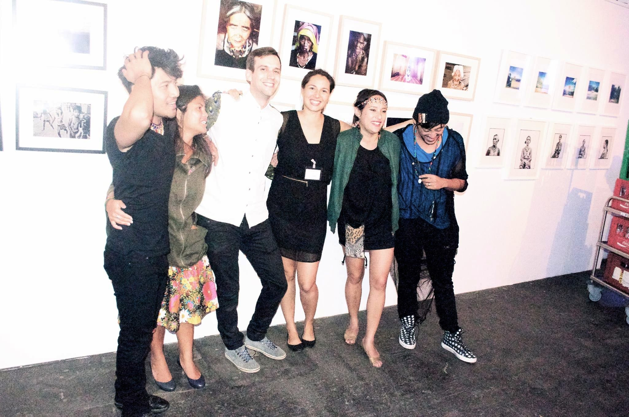 P-Noise collective Andy Roda, Cindy Daniels, Daniel Alonso Van Camp, Jacqeline Hansen, Lisa Marker and Ray Roa