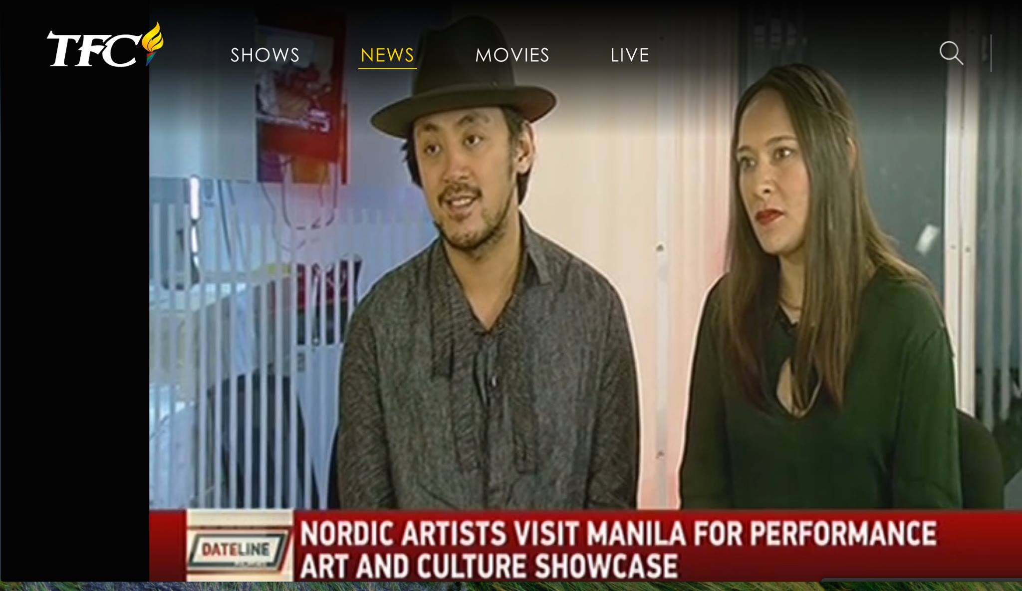 Dateline Manila Interview