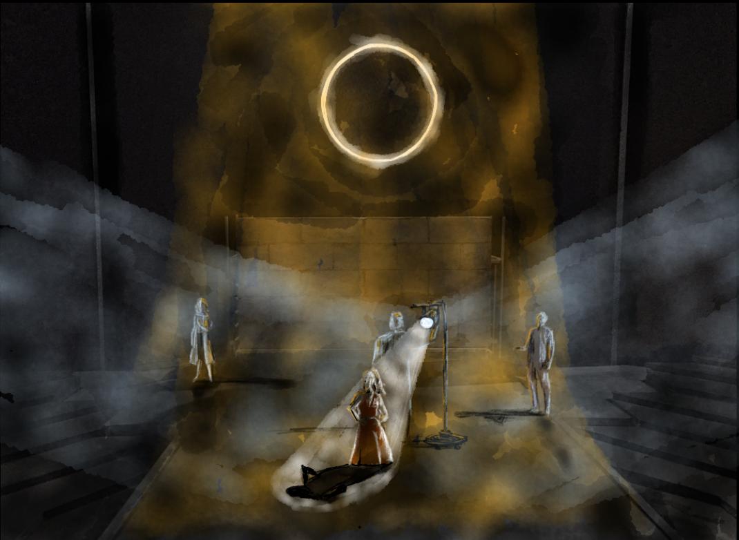 Creon Interrogates Antigone