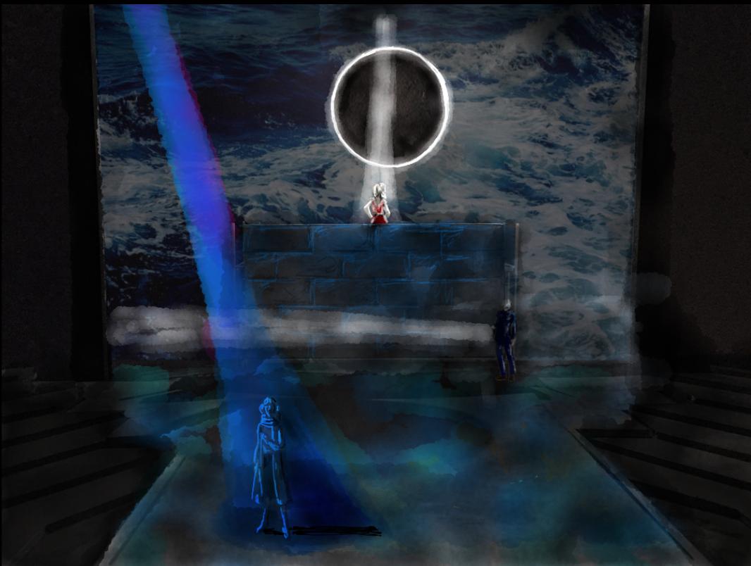 Antigone's Vision of Esme