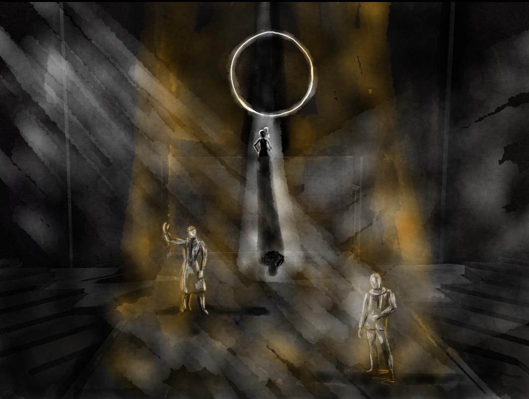 Haemon Tries to Persuade Creon