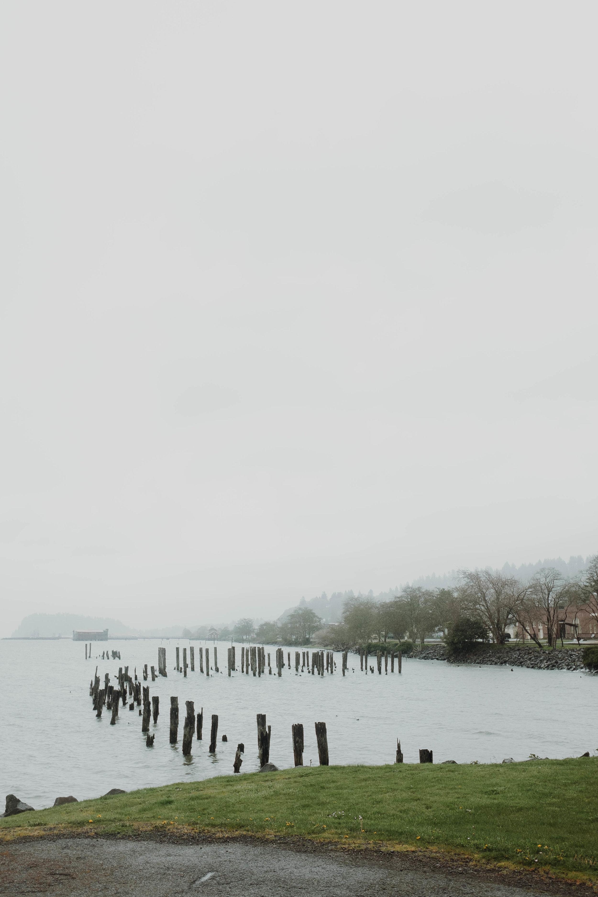 Astoria Fog by Jennifer Russell