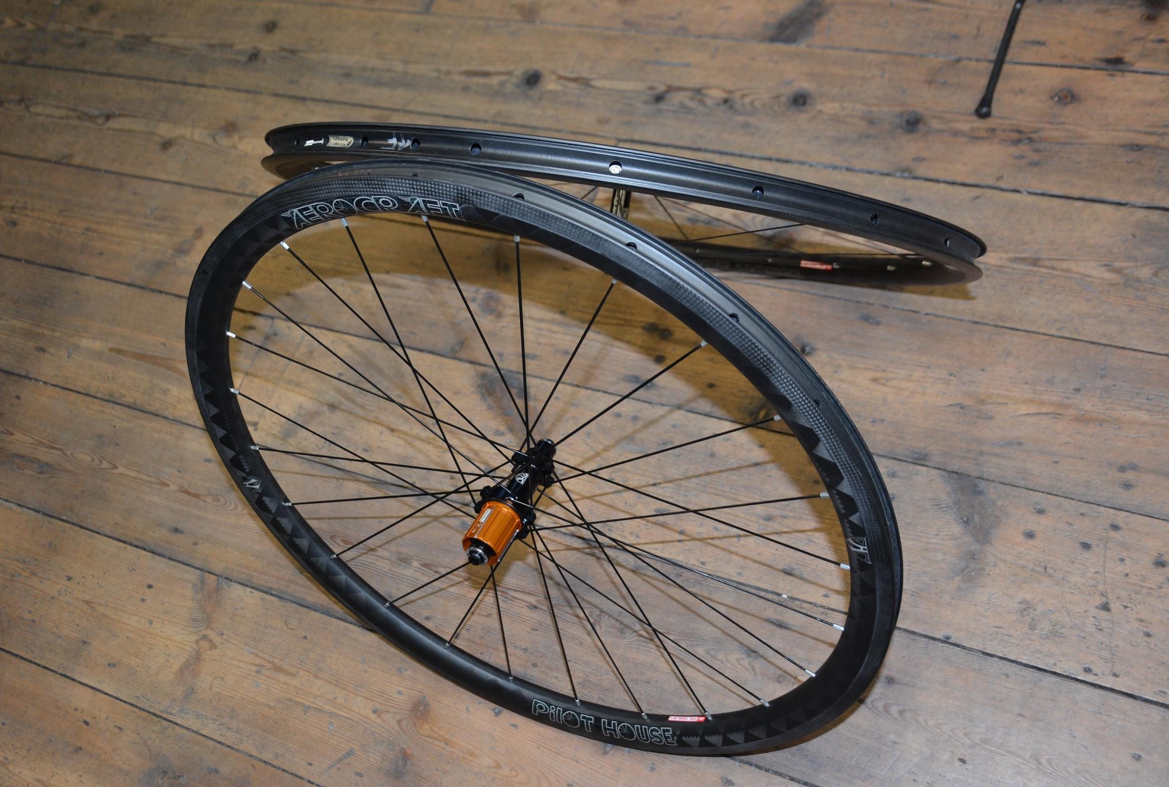 PHC carbon wheels
