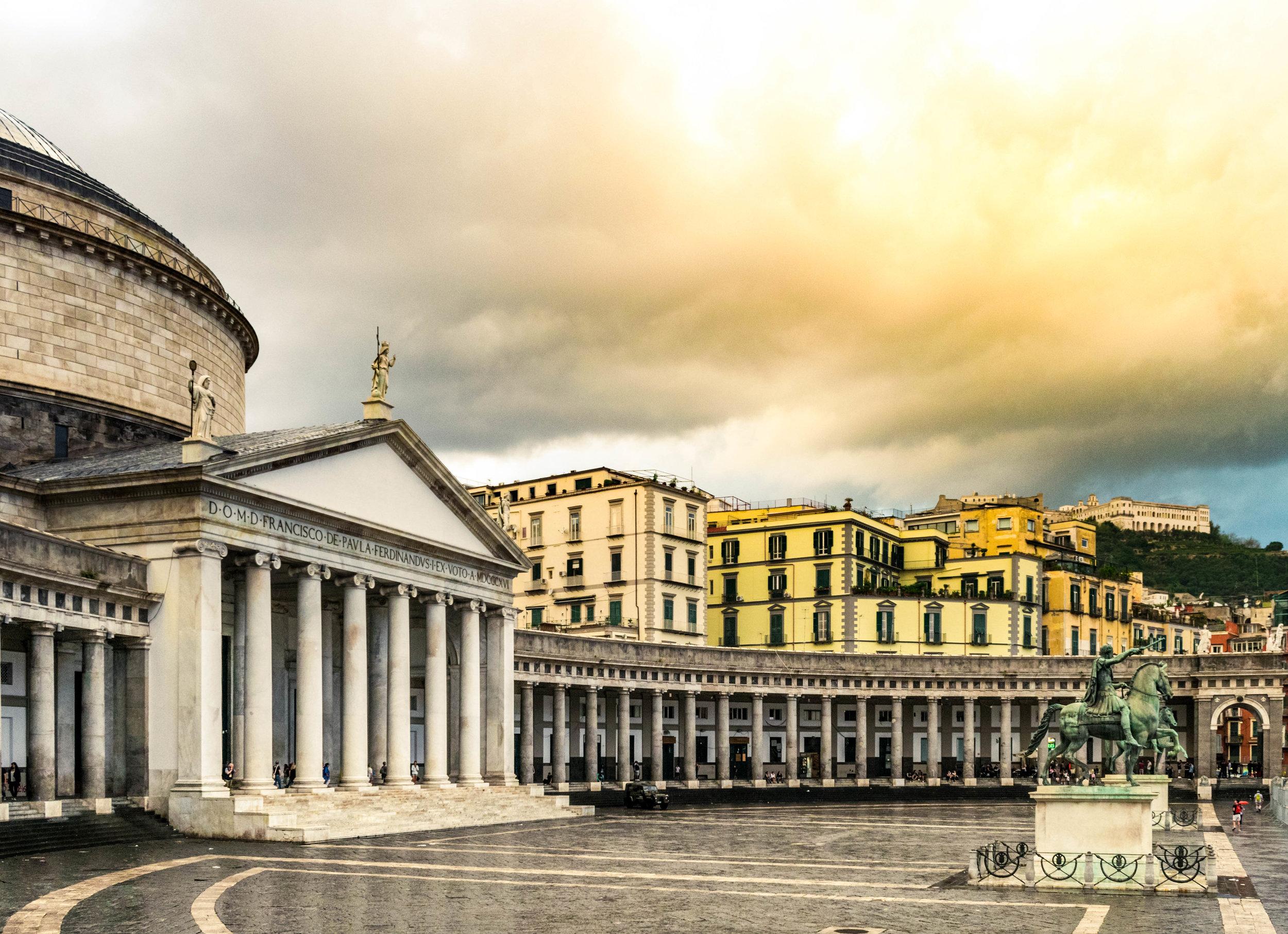 San Francesco di Paola - A church in Naples