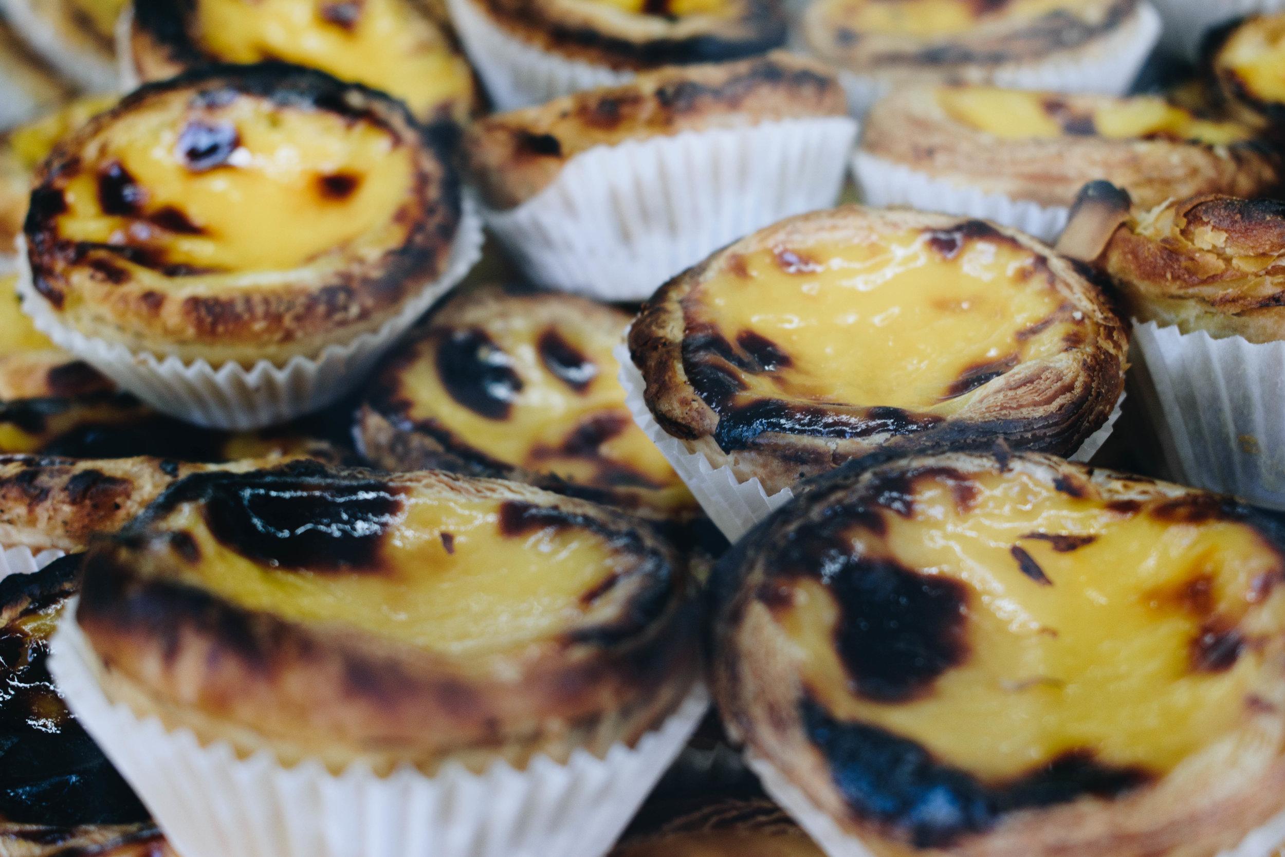 Pasteis-De-Nata-Custard-Pastry-Brown-Leather-Book