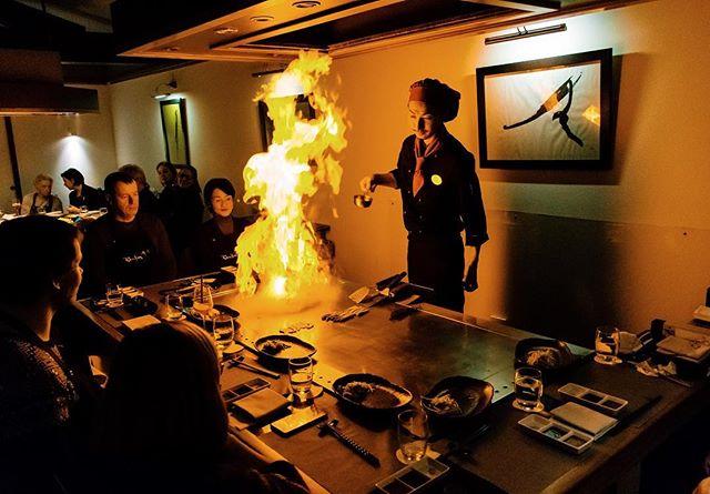 We ate, we drank, we played with fire. - #hotelnikko #teppanyaki #duessoldorffood #Düsseldorffood #japanese #duesseldorf #passionpassport #huffpostgram #cntraveler #bestdiscovery #searchwondercollect #discoverglobe #openmyworld #beautifuldestinations #artofvisuals exploremore #ourplanetdaily #germany #photography #nikon #nikoncam