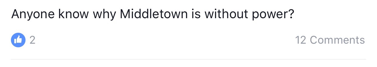 The revolution is among us, brethren! We must fight in the name of Middletown. Middletown is without power?