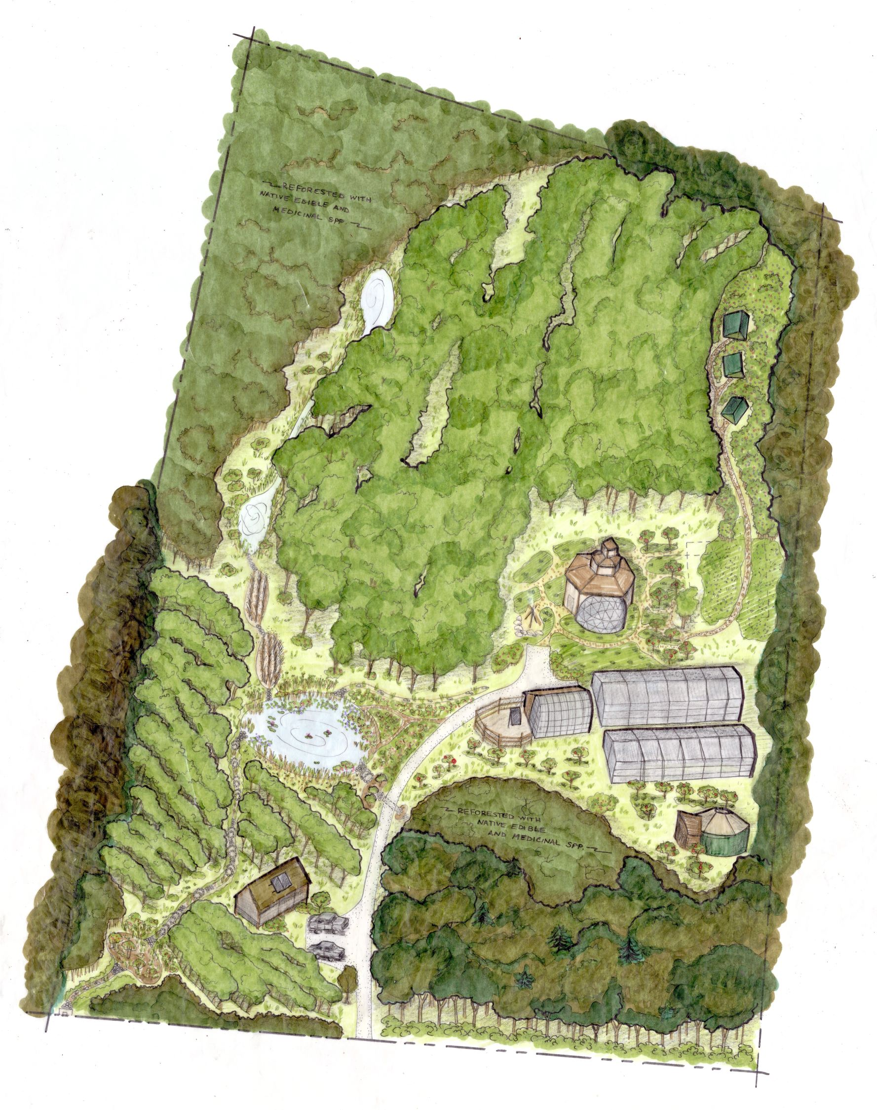 Master Plan for Nutwood Farm - Cummington, MA