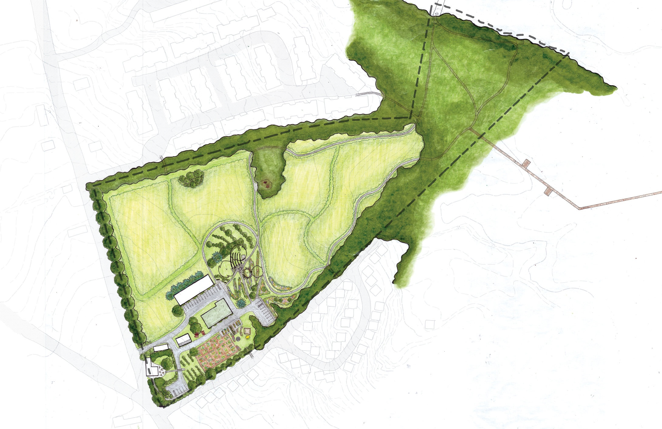 Master Plan for Beaver Brook Farm - Dracut, MA