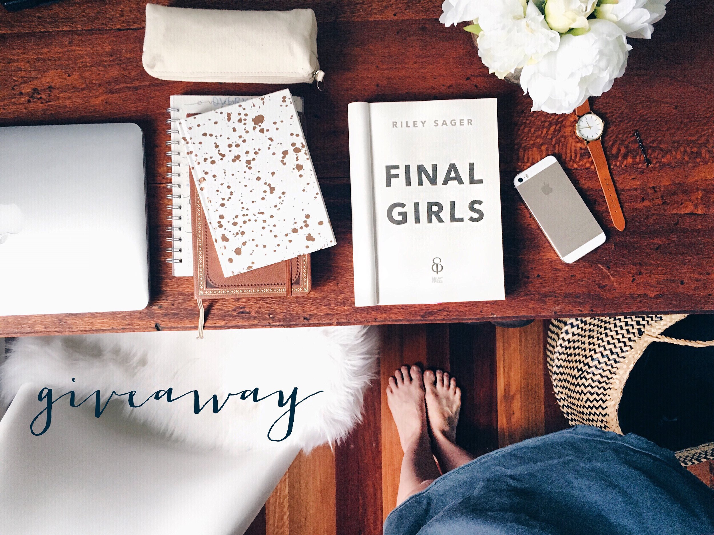 GIVEAWAY - Join the giveaway on my Instagram account for the chance to win a copy of FINAL GIRLS. ( Australian and NZ residents only)