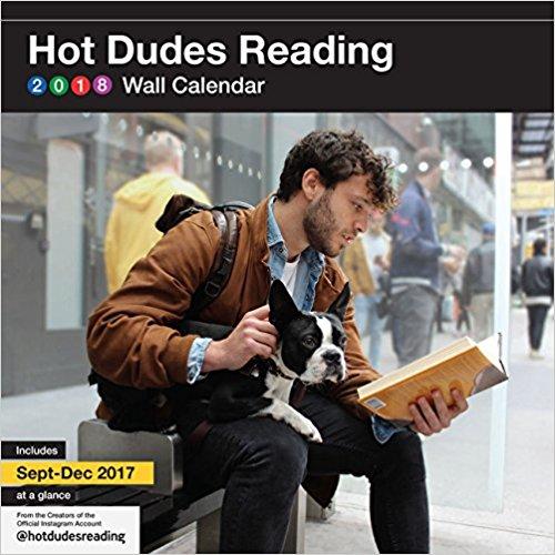 Hot Dudes Reading 2018 Calendar