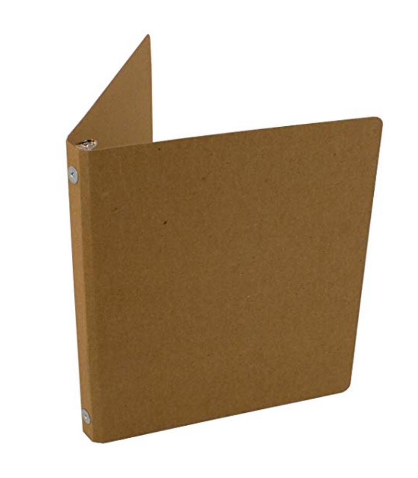 chipboard binder zero waste school supplies