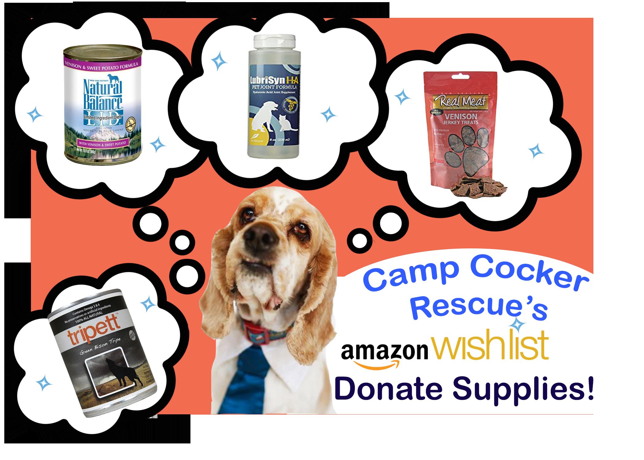 Amazon Wish List Cocker Spaniel