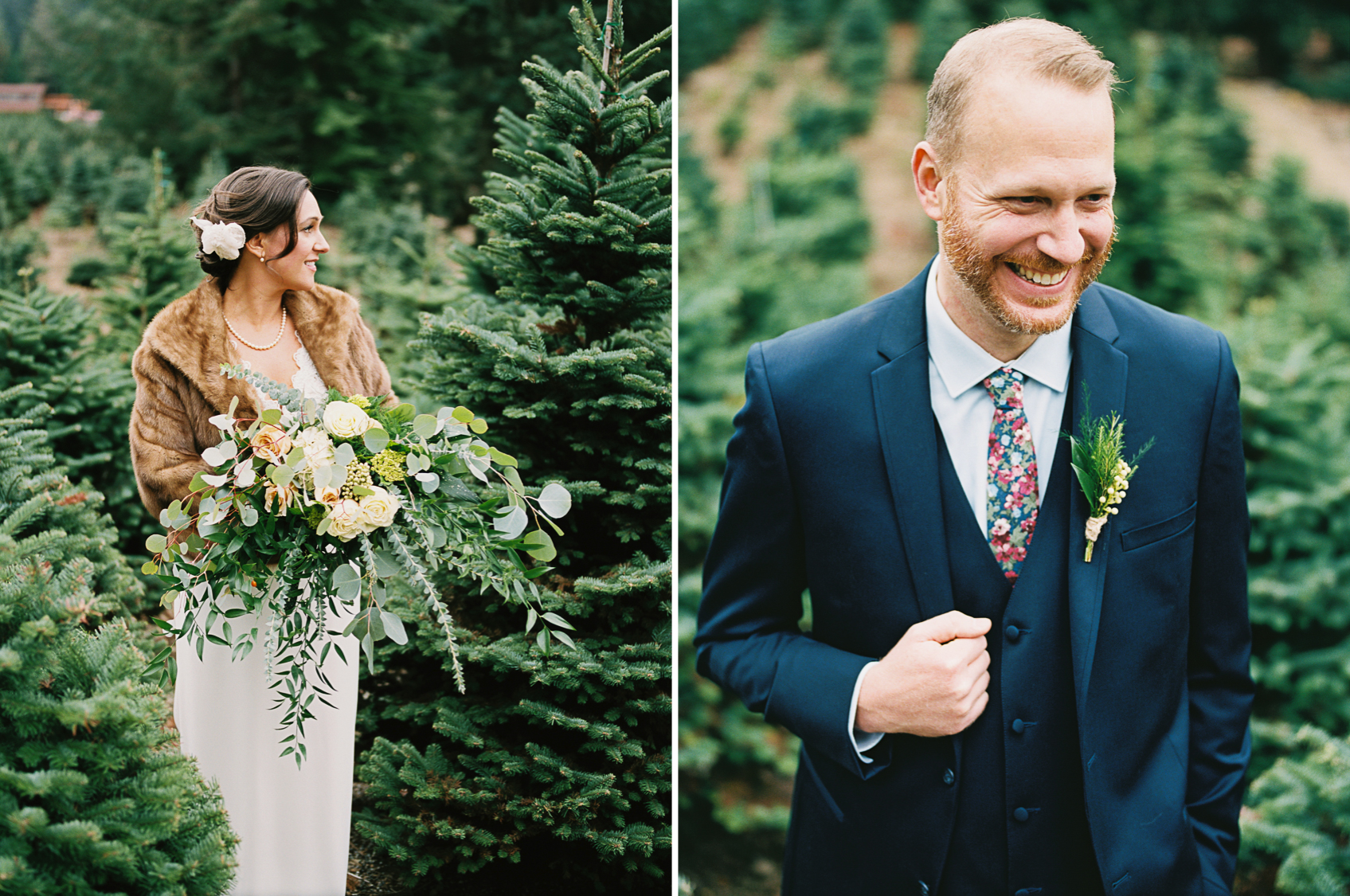 Trinity Tree Farm Wedding Amy Kiel Photography