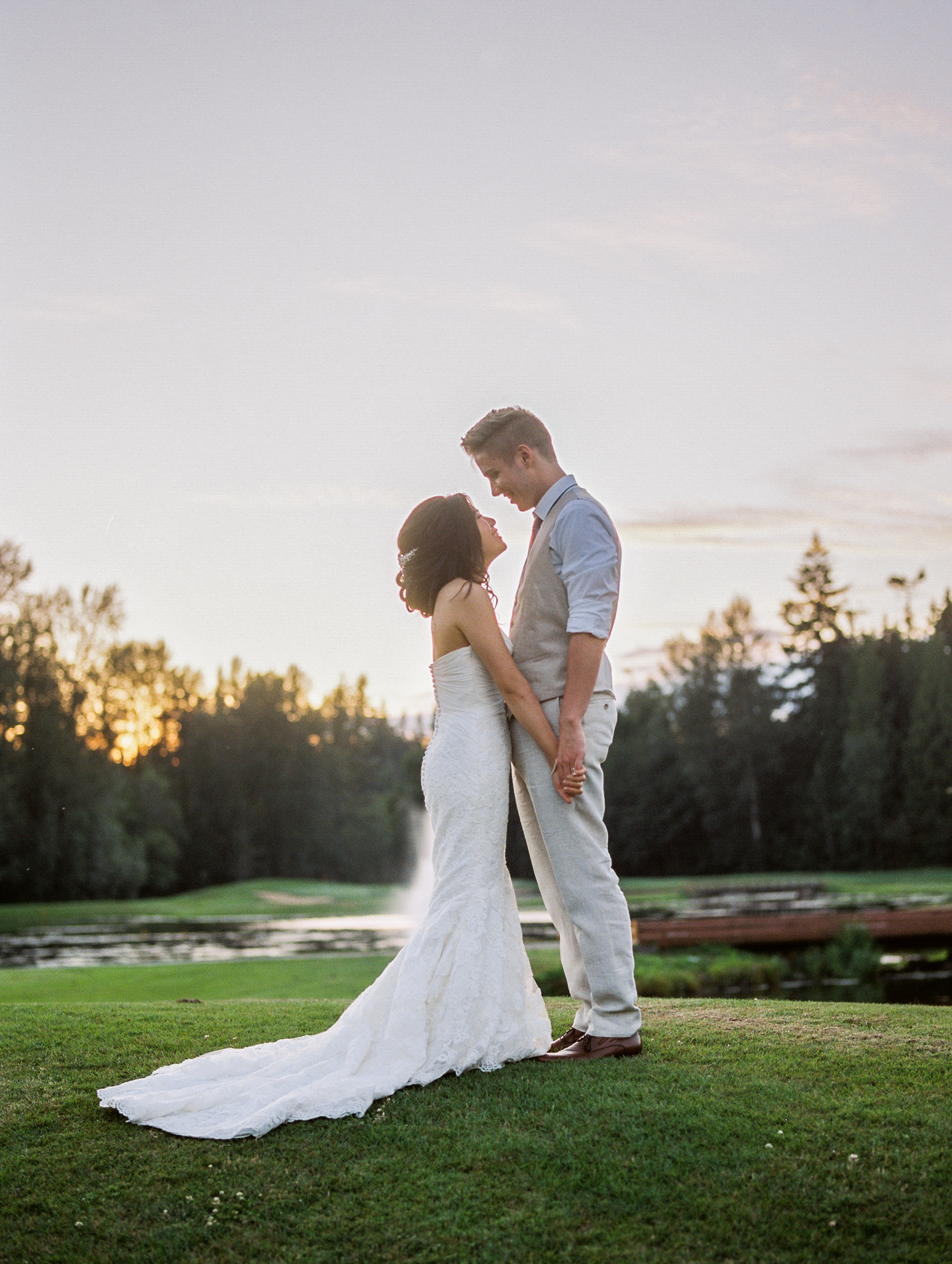 helena + Michael - Bear Creek Country Club, Woodinville Washington
