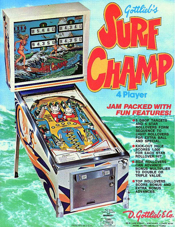 SURF CHAMP - 1976