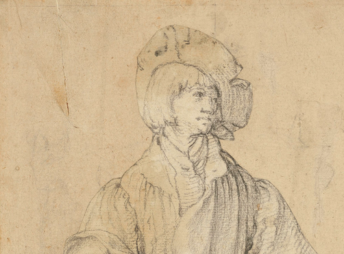 Lucas van Leyden's early-16th-century black chalk drawing of a young man sold for 11.5 million pounds, or about $14.6 million, at Christie's.