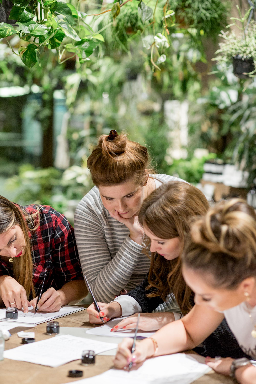 calligraphy workshop london