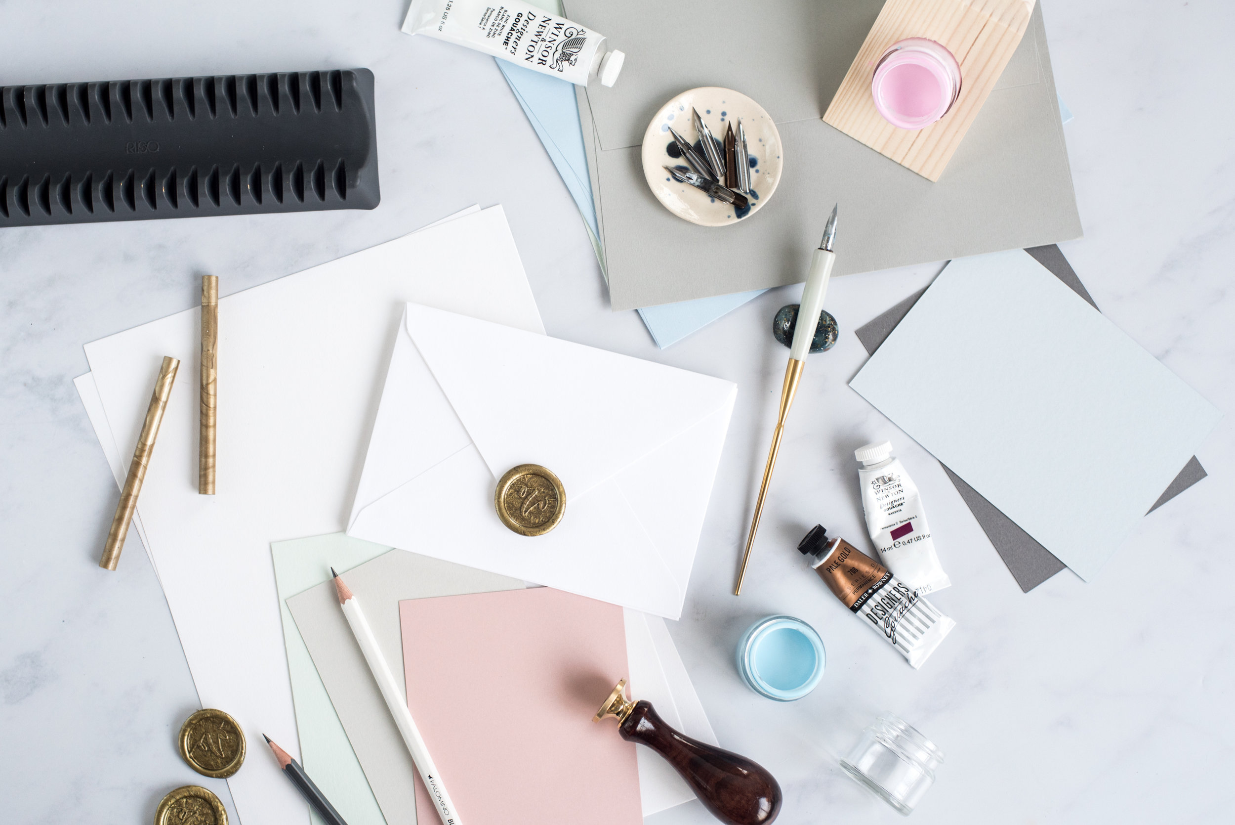 modern calligraphy gift list