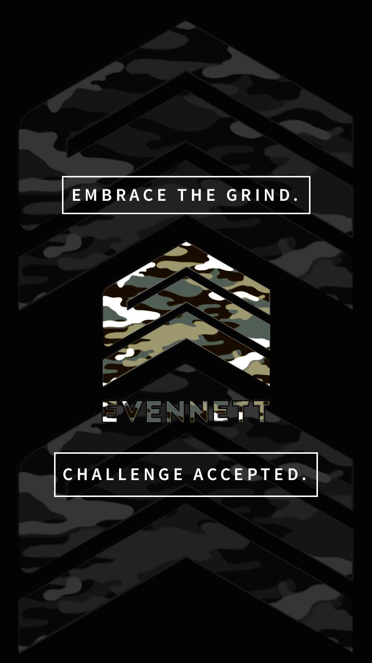 """EVENNETT """"Embrace the Grind"""" Mobile Wallpaper"""