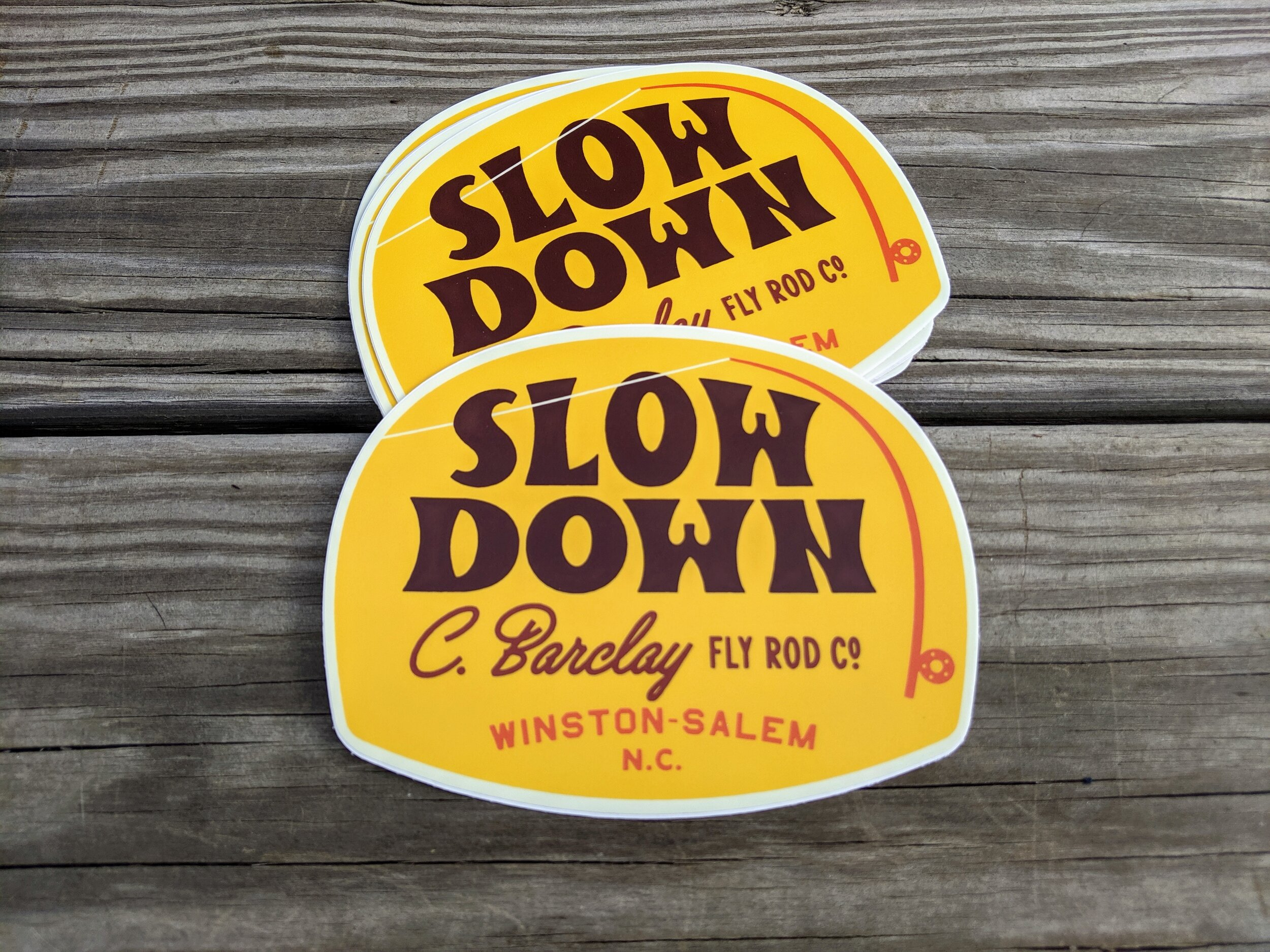slow. down.