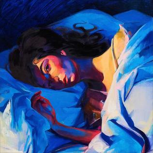 Melodrama cover art by artist  Sam Mckinniss