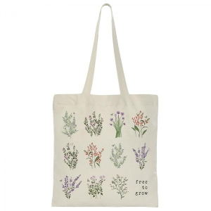 """Free to Grow"" tote from The Tote Project"
