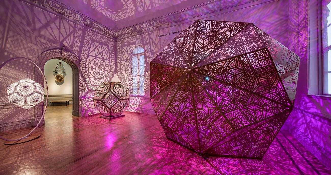 Went two times to check out  this exhibition  at the Renwick Gallery in D.C. Go if you haven't!