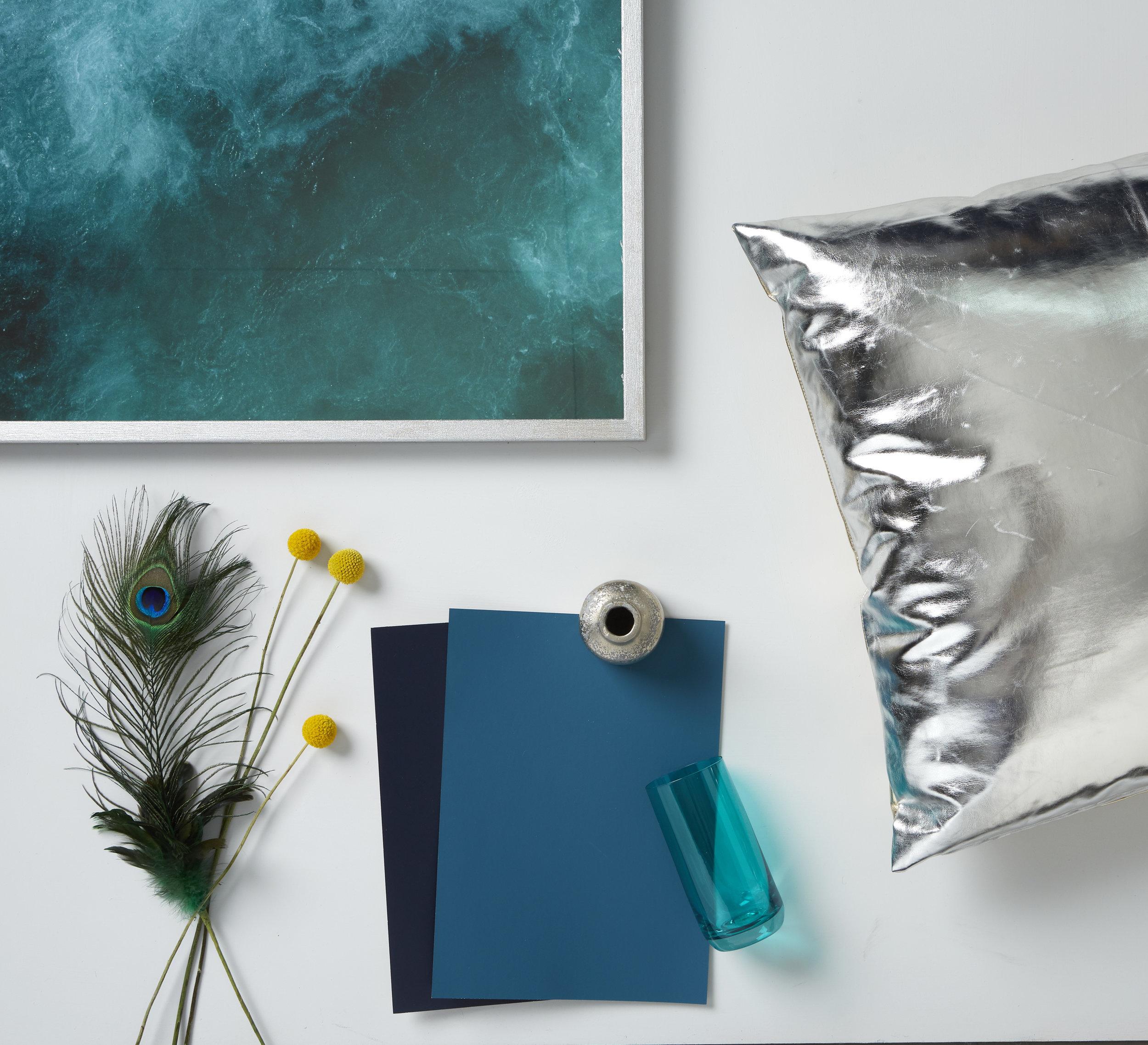 Kate Alexander,flatlay,blue,Resene Indian Ink+Midwinter Mist+Teal Blue+Silver Aluminium,photo Bryce Carleton.jpg
