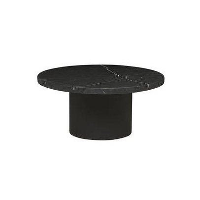 Soren Liv Elle Pillar coffee table >>  Elegant and unfussy in its proportions. The black marble connecting with the floor below, and shelf above.