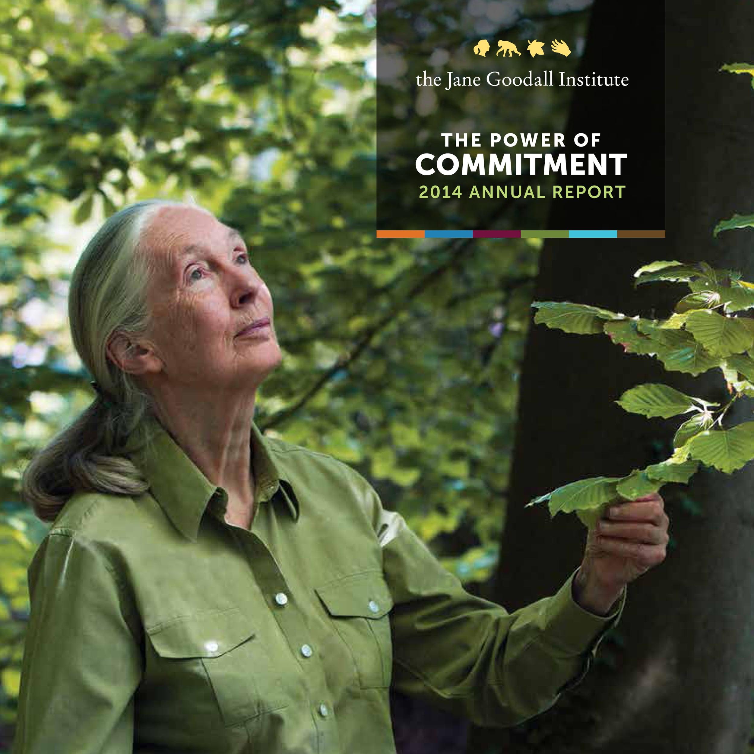 Jane Goodall..