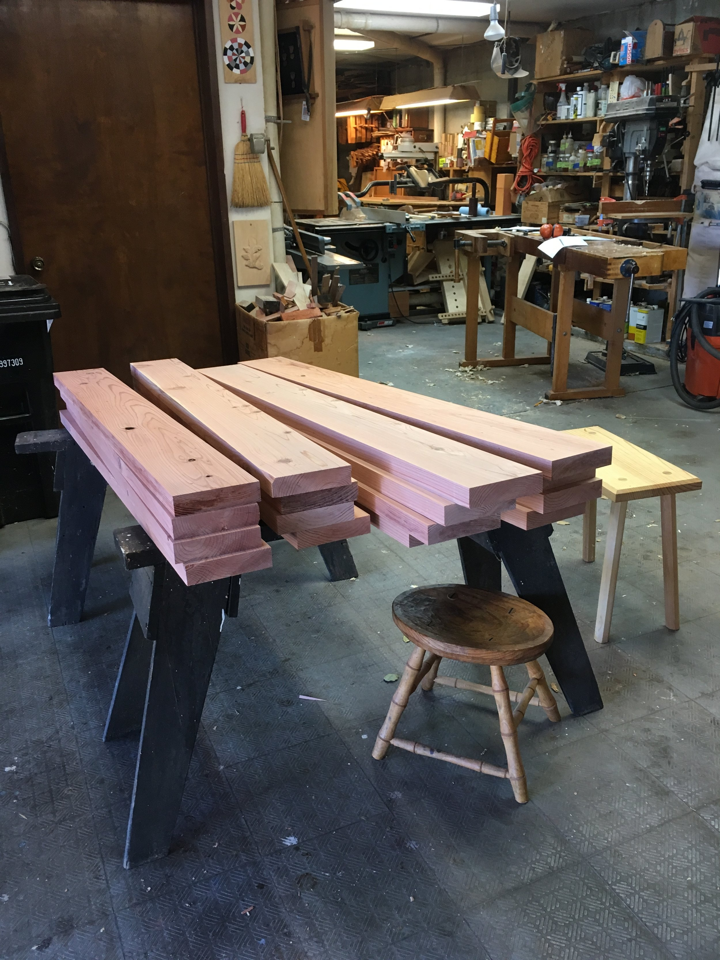 Table and bench tops